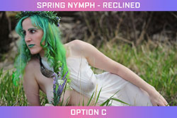 Spring Nymph - Reclined Set - Option B