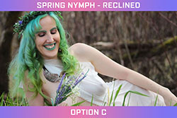 Spring Nymph - Reclined Set - Option C