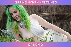 Spring Nymph - Reclined Set - Option D
